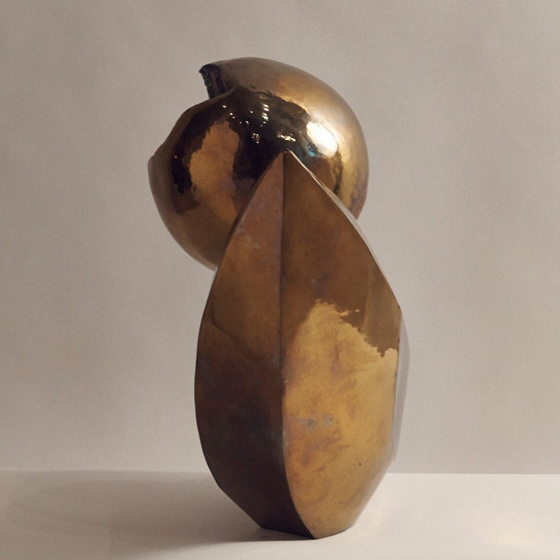 Maté Lapierre, Unique Bronze Sculpture, France, circa 1970s In Excellent Condition For Sale In New York, NY
