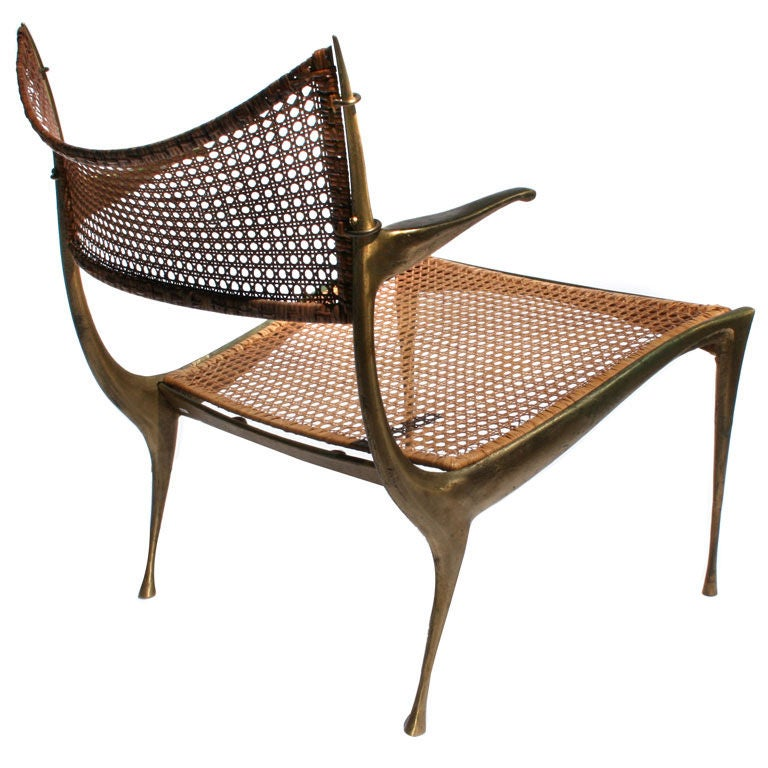 A Quot Gazelle Quot Lounge Chair By Dan Johnson At 1stdibs