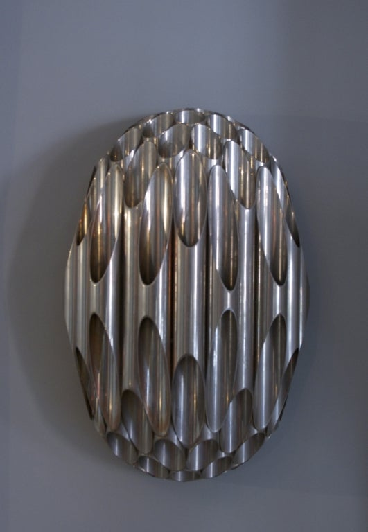 Pair of Maison Charles Honeycomb Sconces, France, circa 1968 2