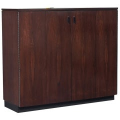 A Rosewood Cabinet by Harvey Probber, USA, c.1970's