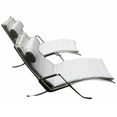 Pair of Grasshopper Lounge Chairs by Fabricius and Kastholm