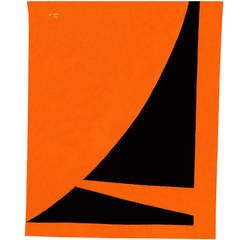 "Jan Yoors, Tapestry ""Sail"", USA, 1977"