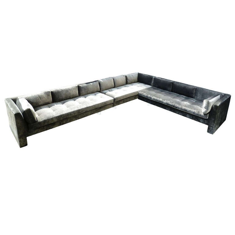 An Extra Large Custom Sofa By Vladimir Kagan Usa C