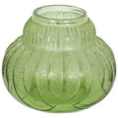 Daum Nancy Art Deco Vase