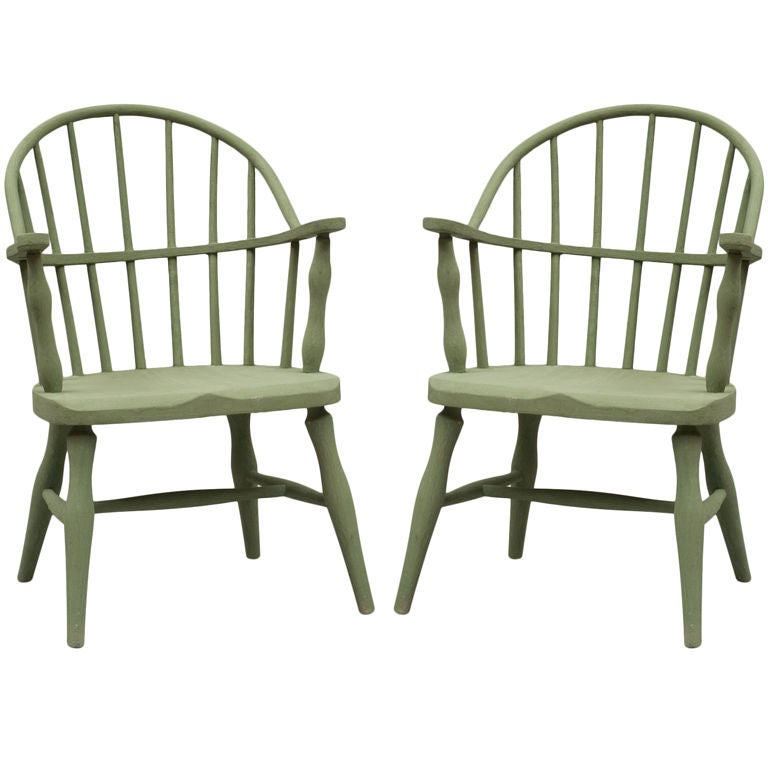 Childs Bow Back Windsor Chairs At 1stdibs