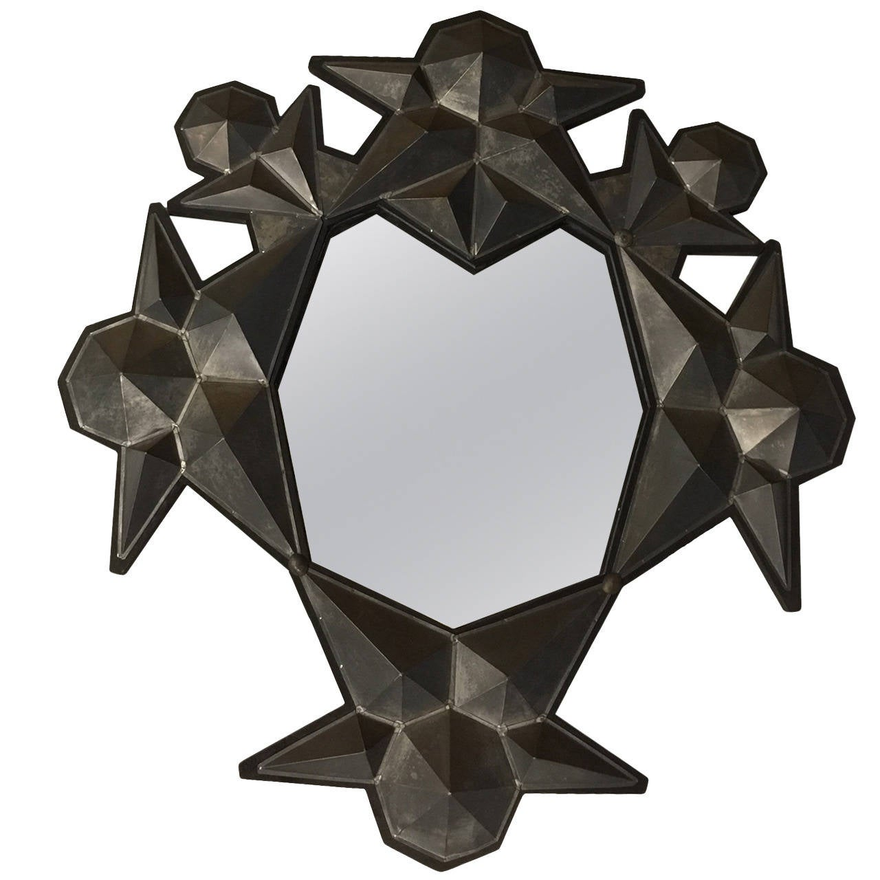 Three-Dimensional Star Cluster Mirror, 1980s 1
