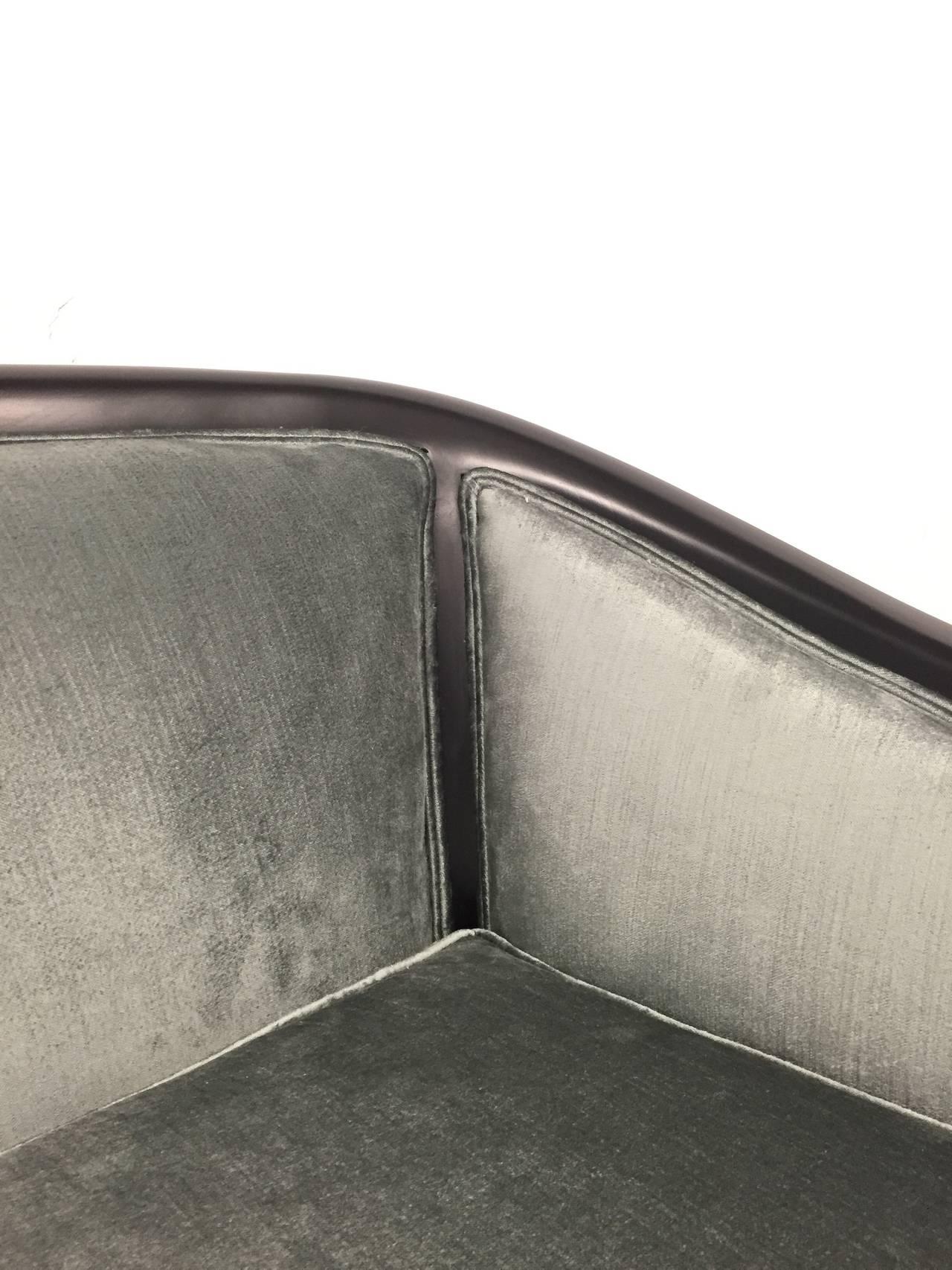 Elegant 1950s Paul Lazlo Inspired Sofa 2