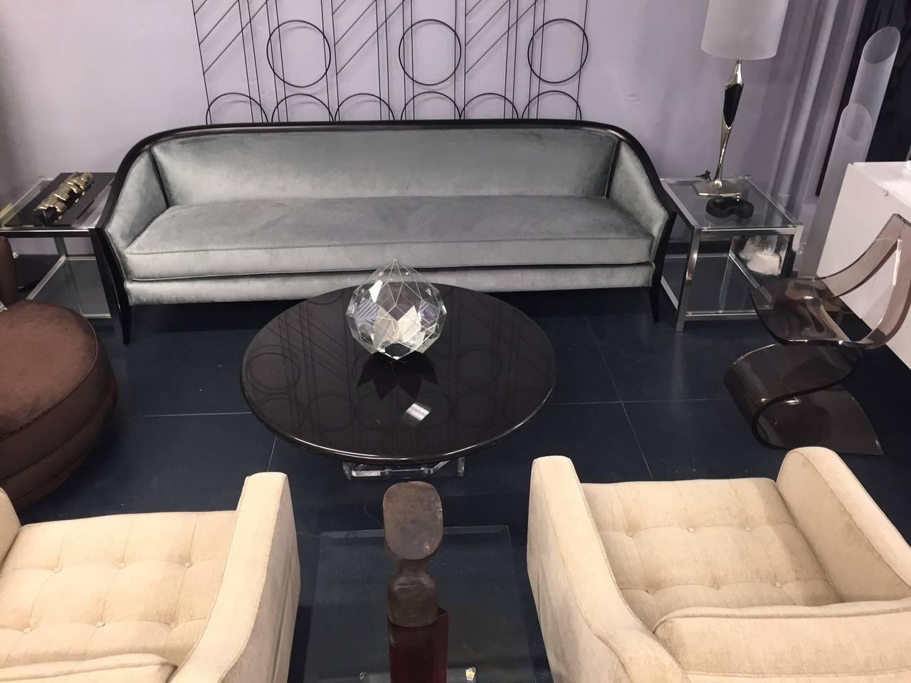 Elegant 1950s Paul Lazlo Inspired Sofa 5