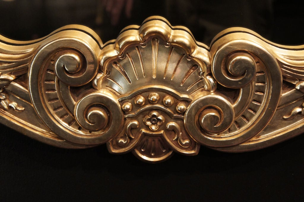 Hollywood Rococo Gilt Mirror 5