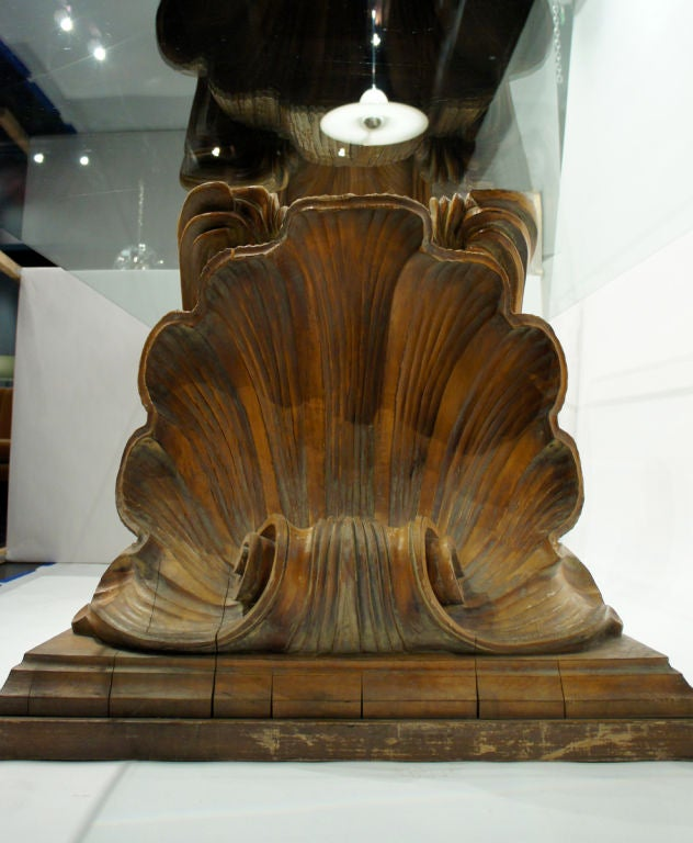 Beaux arts carved wooden shells for sale at stdibs