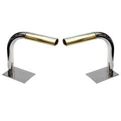 Pair of Tubular Lamps