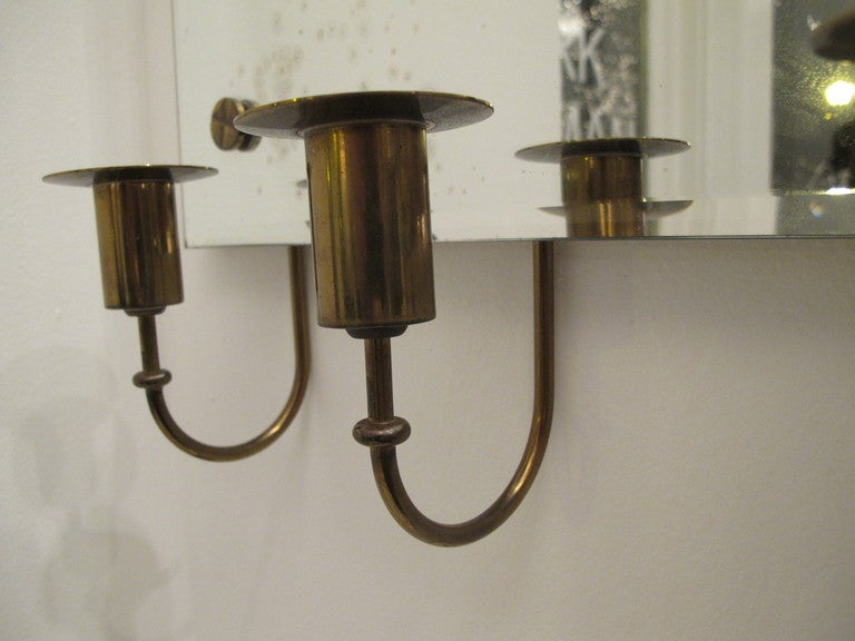 Tommi Parzinger Mirror with Candleholders 6