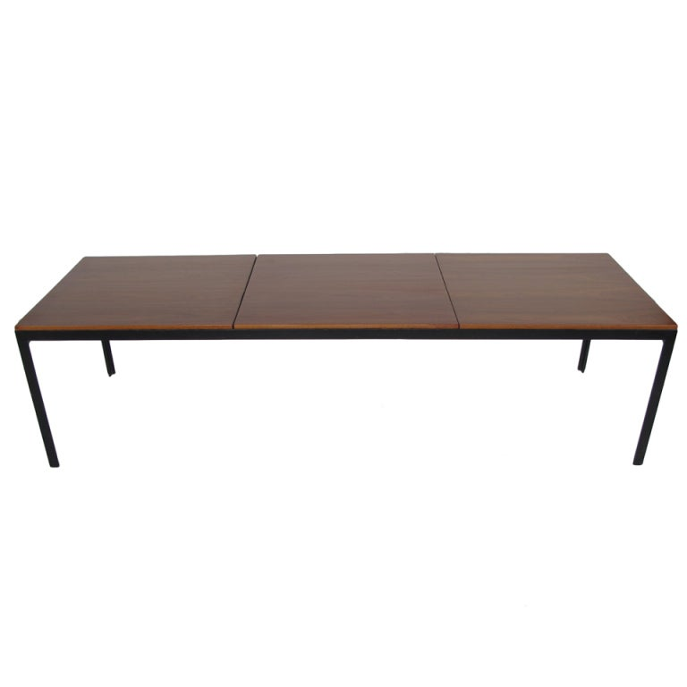 Florence knoll angle iron frame coffee tables at 1stdibs Florence knoll coffee table