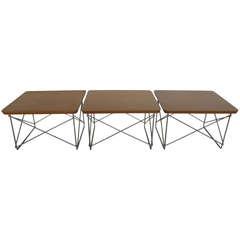 Charles Eames LTR Tables Herman Miller