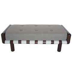 T.H.Robsjohn-Gibbings Upholstered Bench