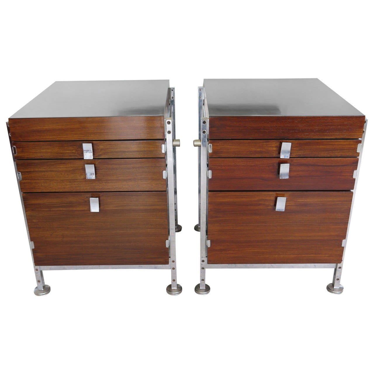 Pair of Cabinets by Jules Wabbes