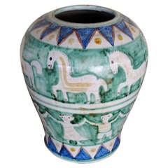 C.A.S. Vietri Ceramic Vase