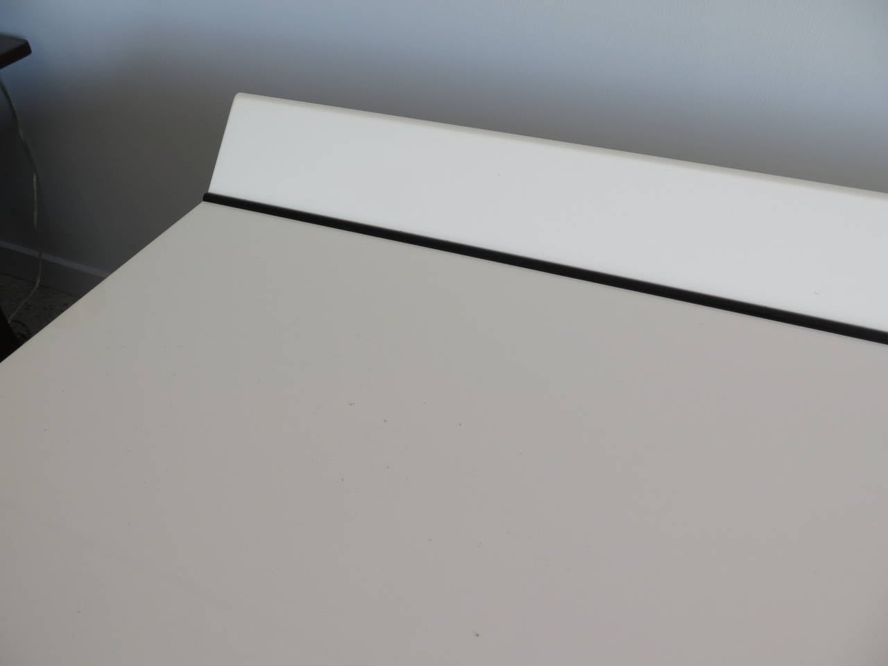 Pair of Large White Lacquer Chests 2