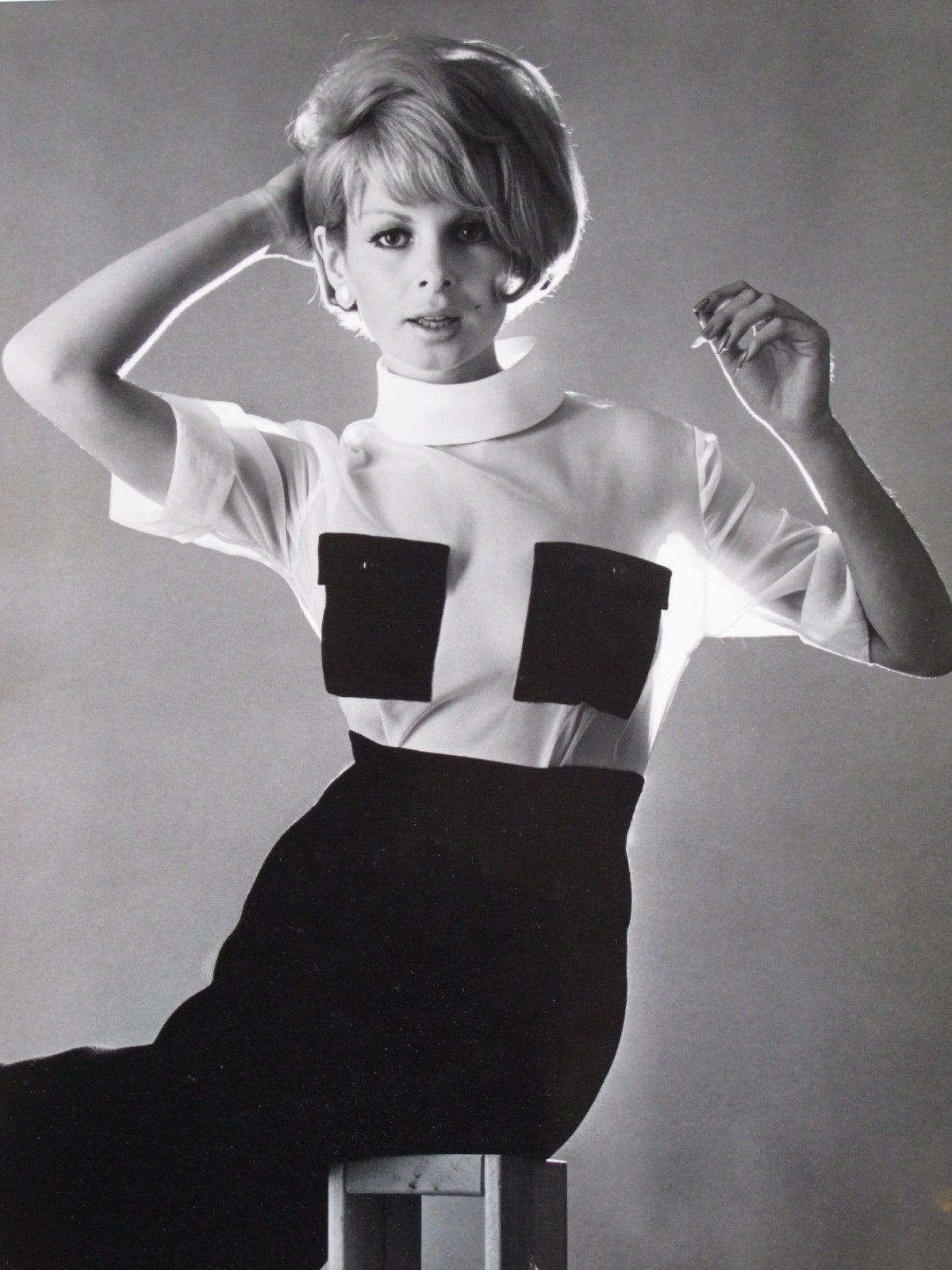 1964 Fashion Photograph by John Aadrian
