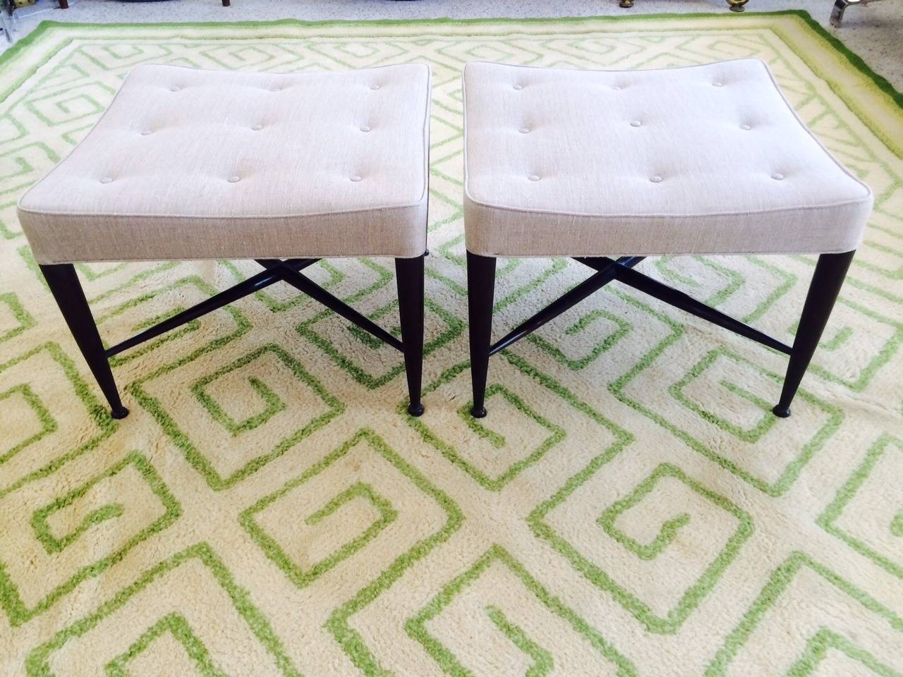 American Elegant Greek Key Design Carpet by V'Soske For Sale