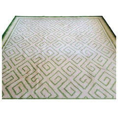 Elegant Greek Key Design Carpet by V'Soske