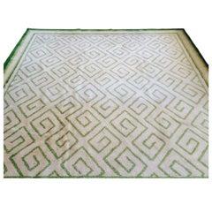 Elegant Greek Key Design Carpet by V'Soske