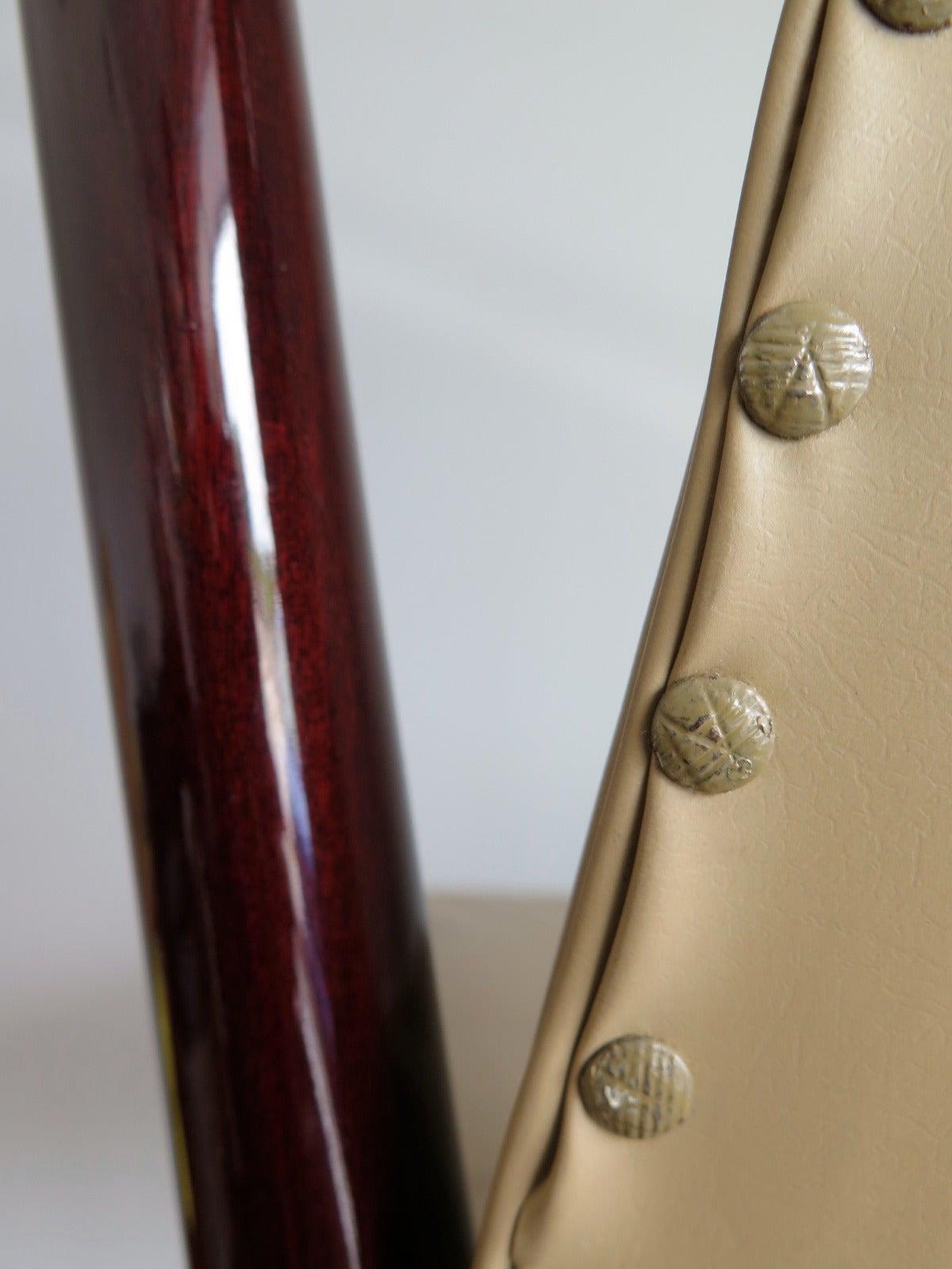 Set of 12 Elegant Chairs in the style of Osvaldo Borsani For Sale 3