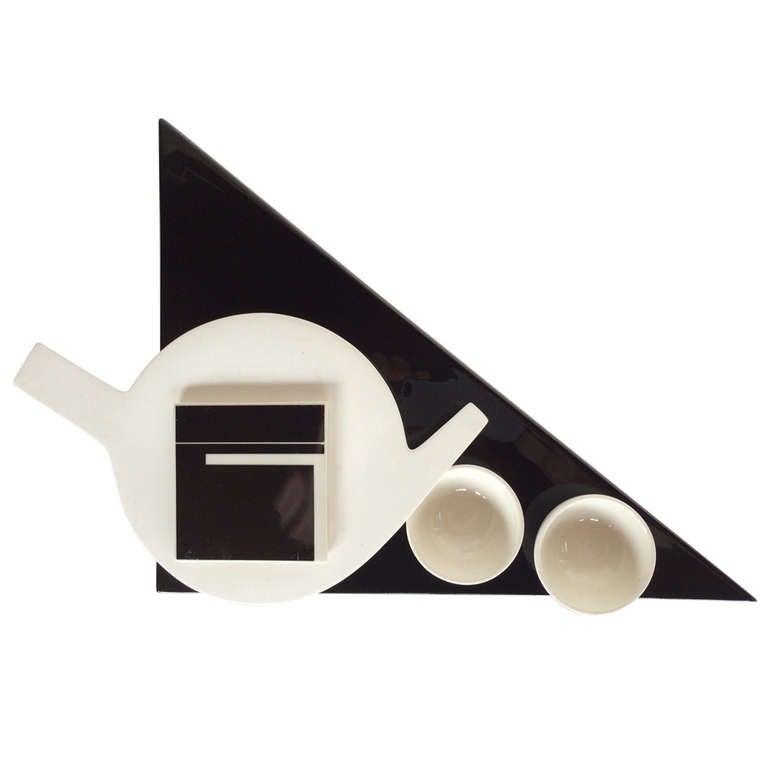 marek cecula tea set ca u0026 39  1980 for sale at 1stdibs