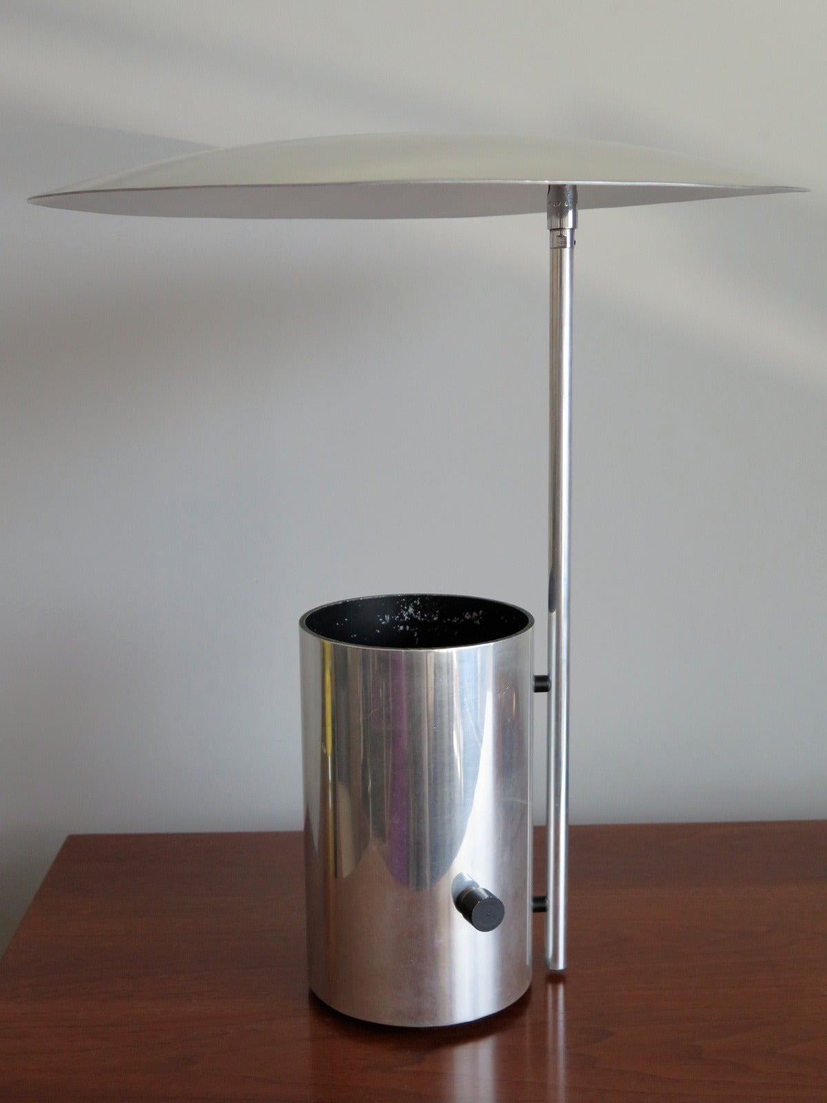 A Classic George Nelson Half Nelson Lamp With Adjustable