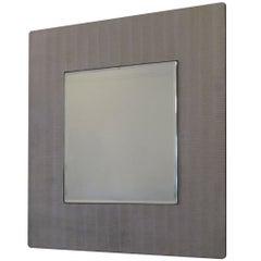 An Etched Aluminum Mirror by Lorenzo Burchiellaro