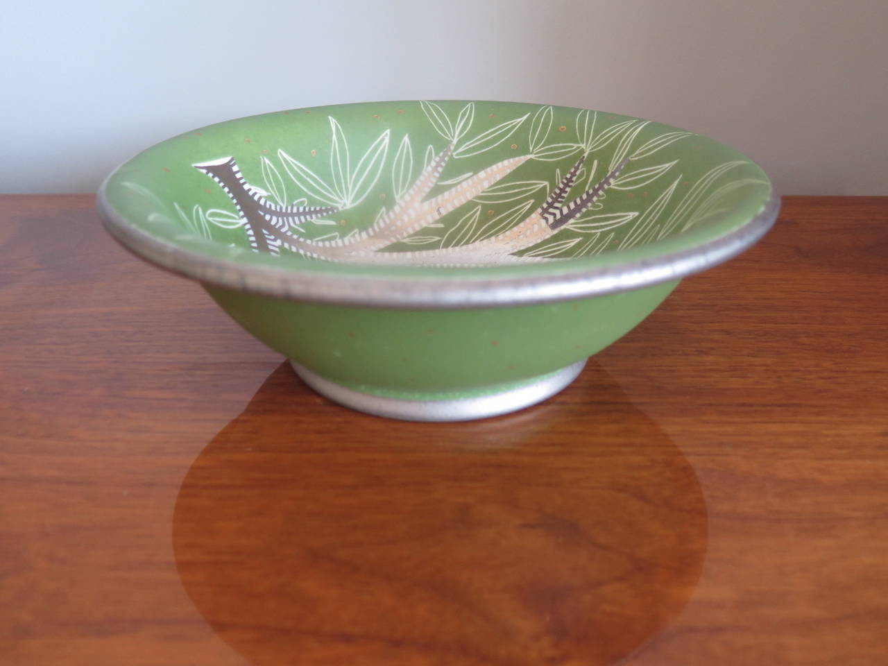 Mid-20th Century Waylande Gregory Ceramic Bowl For Sale