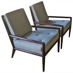 Pair of Classic T.H. Robsjohn-Gibbings Armchairs for Widdicomb