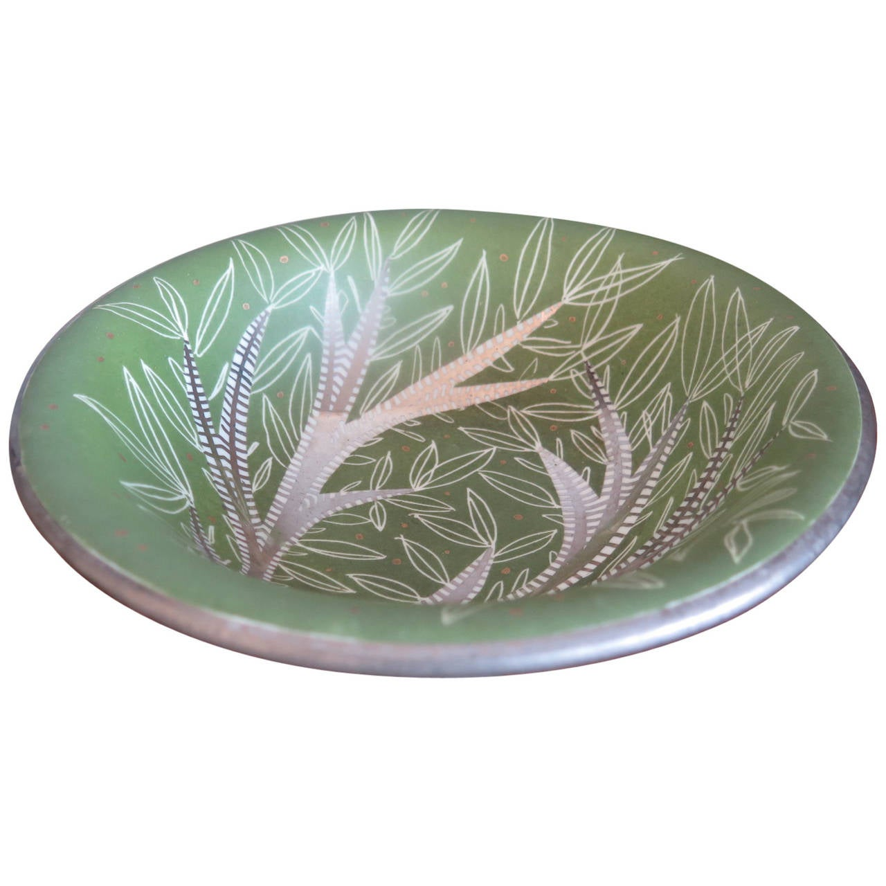 Waylande Gregory Ceramic Bowl For Sale