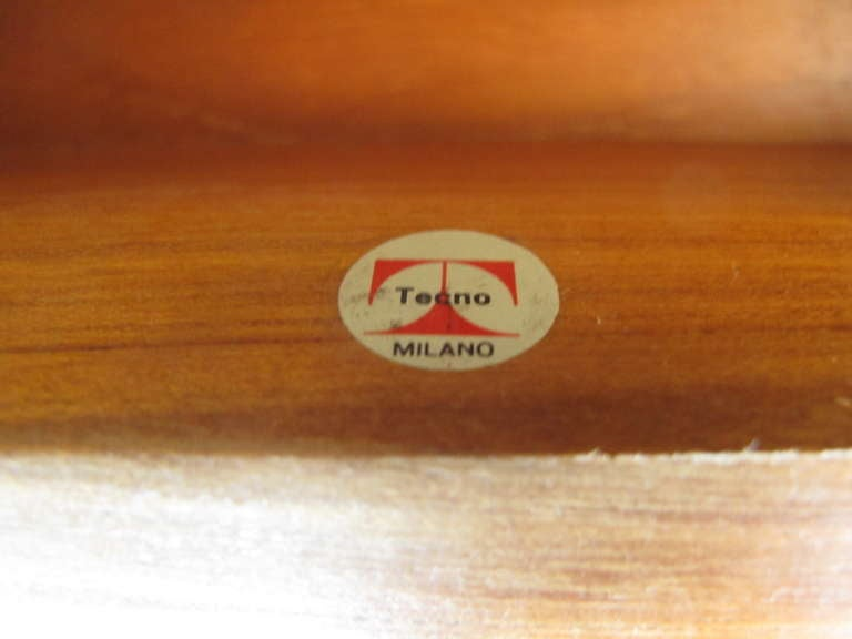 Osvaldo Borsani for Tecno Desk, circa 1950s For Sale 1