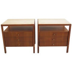Pair of Vintage Night Stands by Gerry Zanck for Gregori Line