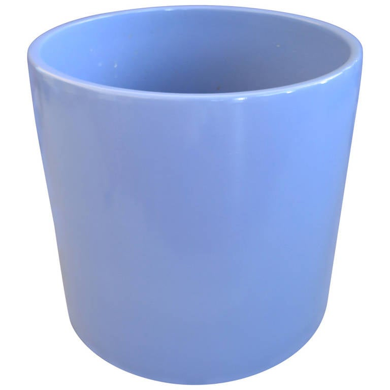 Gainey Ceramic Large Blue Planter For Sale At 1stdibs