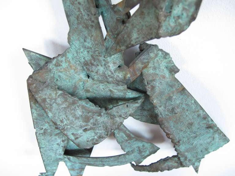 Unusual Bronze Sculpture by Priscilla Pattison, circa 1950s In Good Condition For Sale In St.Petersburg, FL