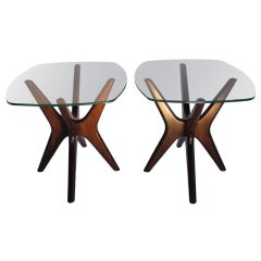 A Pair of Occasional Tables by Adrian Pearsall