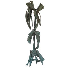 Unusual Bronze Sculpture by Priscilla Pattison, circa 1950s