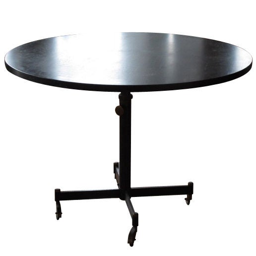 A Rare Adjustable Height Dining Table by Osvaldo Borsani  : XXX802912903861361 from www.1stdibs.com size 516 x 516 jpeg 14kB