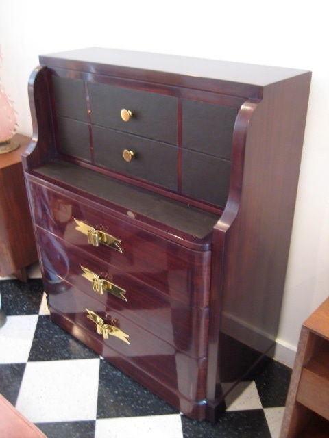 American Grosfeld House Chest or Secretary, 1940s For Sale