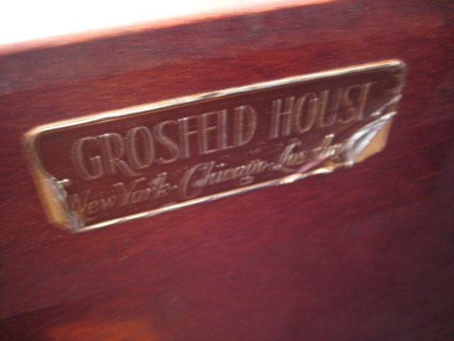 Grosfeld House Chest or Secretary, 1940s In Good Condition For Sale In St.Petersburg, FL