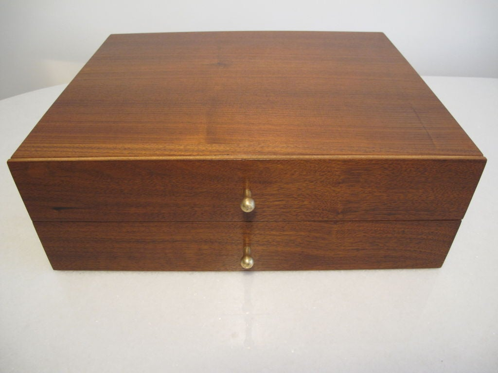 Miniature Chest by Arthur Umanoff in Walnut 2