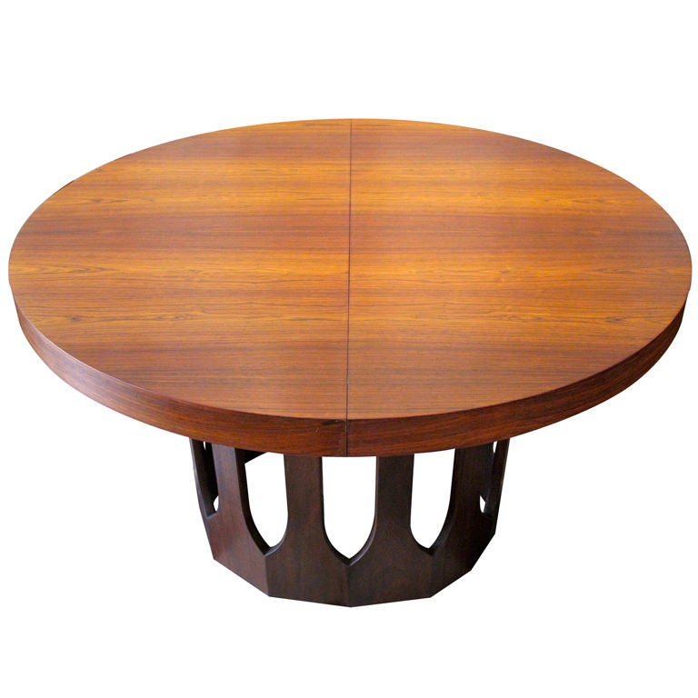 Arch Pedestal Dining Table by Harvey Probber with Rosewood  : XXX802913036534291 from 1stdibs.com size 768 x 768 jpeg 50kB