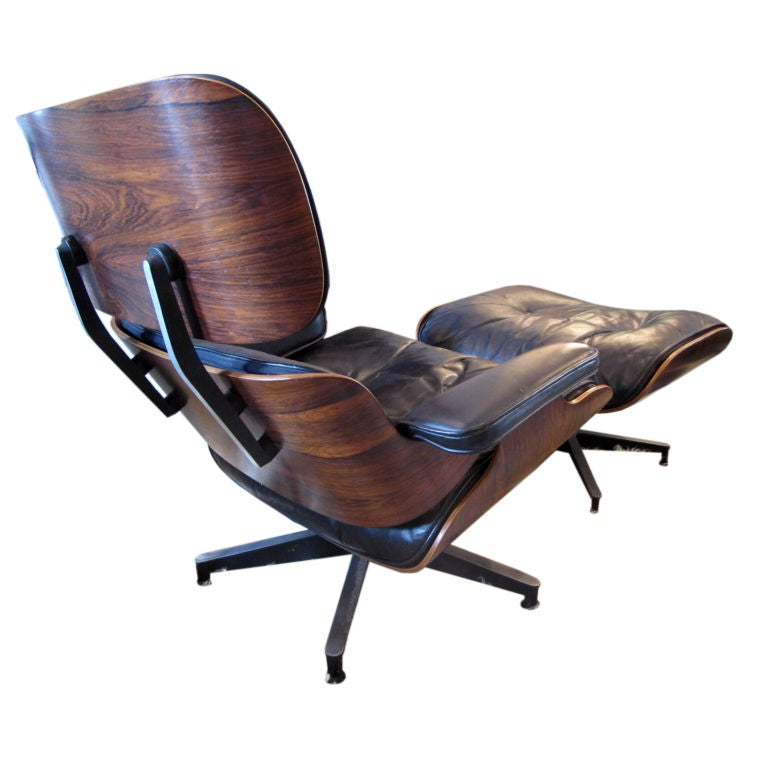 Classic eames for herman miller early lounge chair and - Herman miller lounge chair and ottoman ...