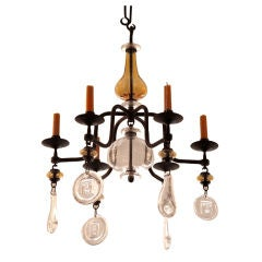 Eric Hoglund Six Arm Chandelier for Boda