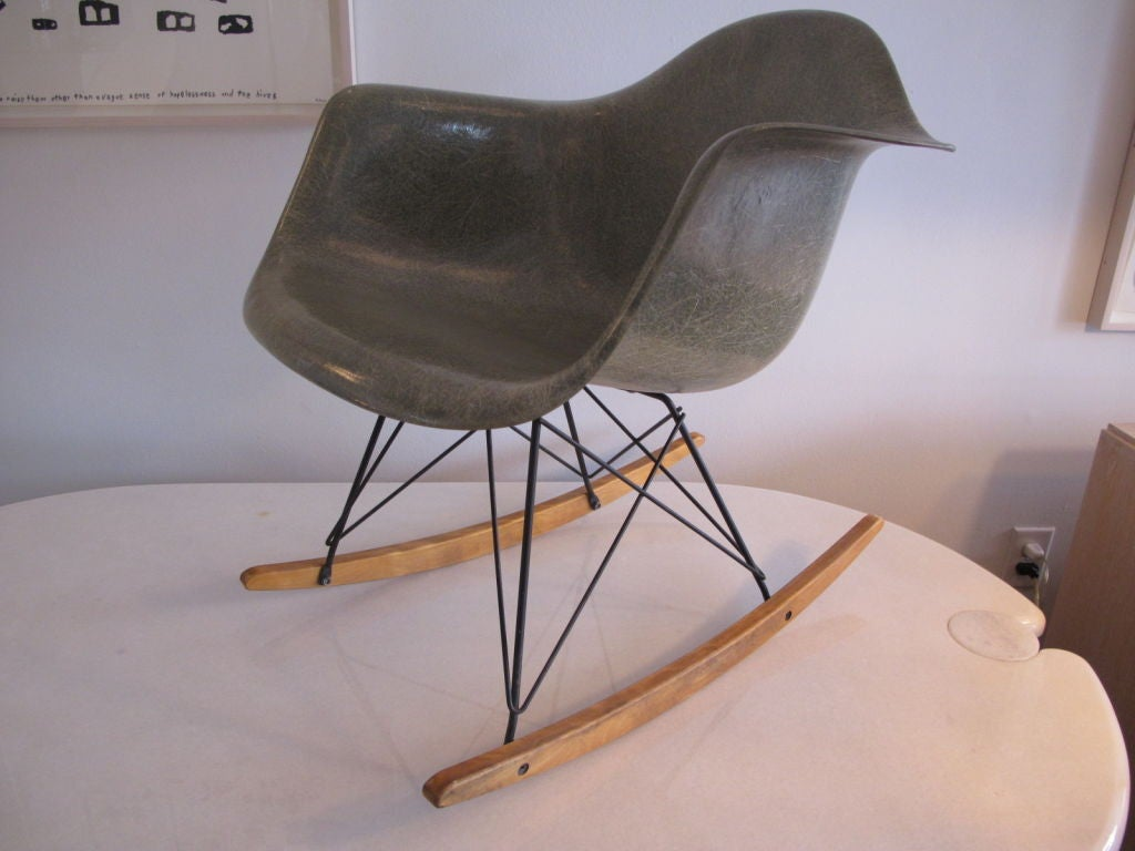 classic charles eames rar rocking chair zenith early production image