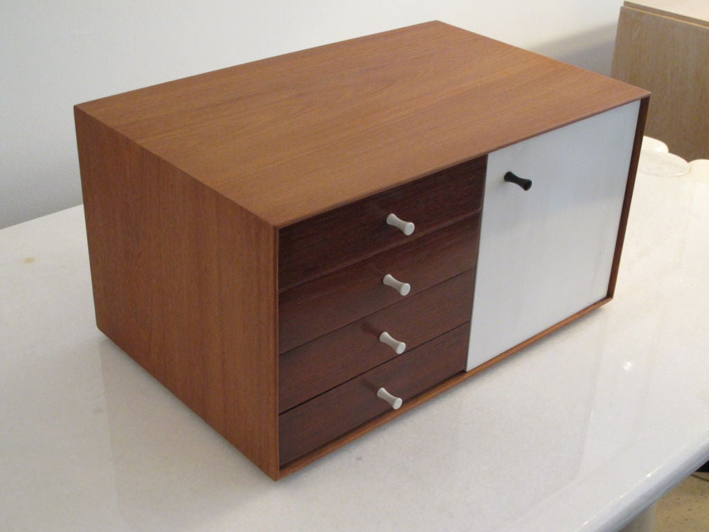A rare George Nelson for Herman Miller miniature chest, #5211, from the