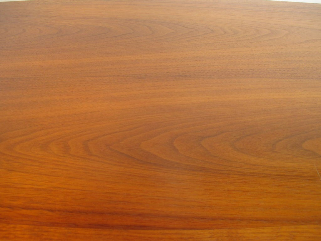 Elegant Surfboard Coffee Table By Heritage In Natural Walnut 3