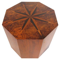 A Faceted Table With Inlays By Andrew Szoeke
